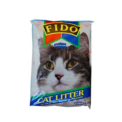FIDO Scoop-away Cat Litter 10LBS