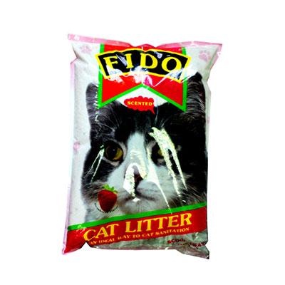 FIDO Scoop-away Strawberry Cat Litter 10LBS